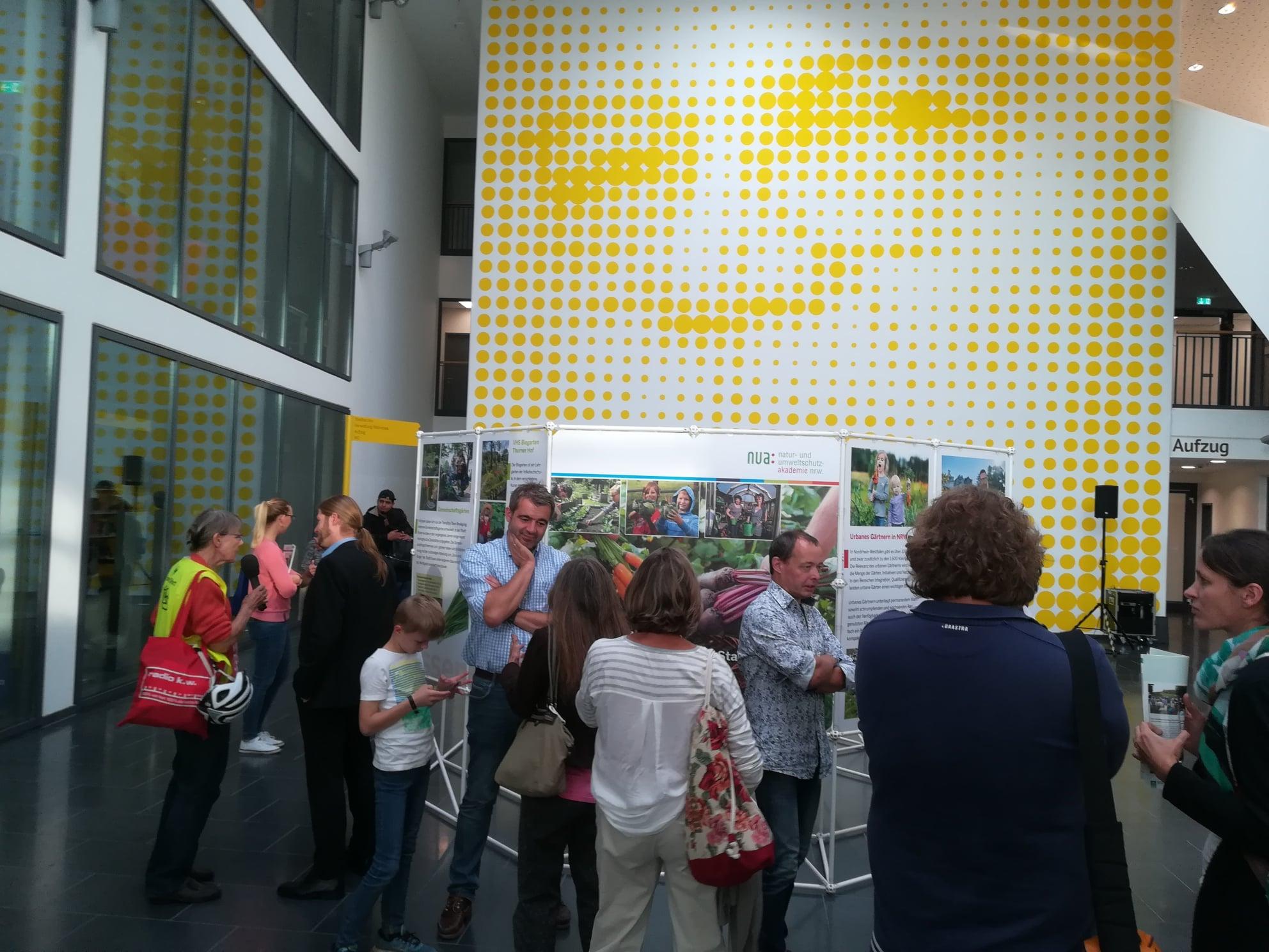 Ausstellung Urbanes Gärtnern