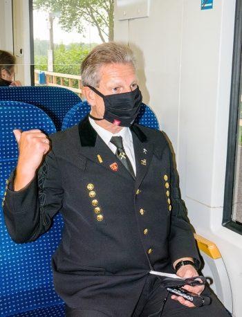 Die LAGA-Bahn – Jungfernfahrt für ehemalige Kumpel