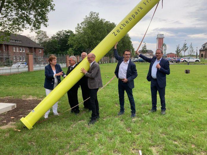 Zechenpark Kamp-Lintfort – neuer Ankerpunkt Route Industriekultur